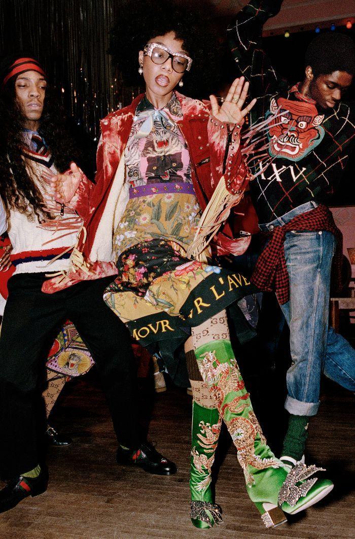 Gucci's Pre-Fall 2017 Campaign is lit