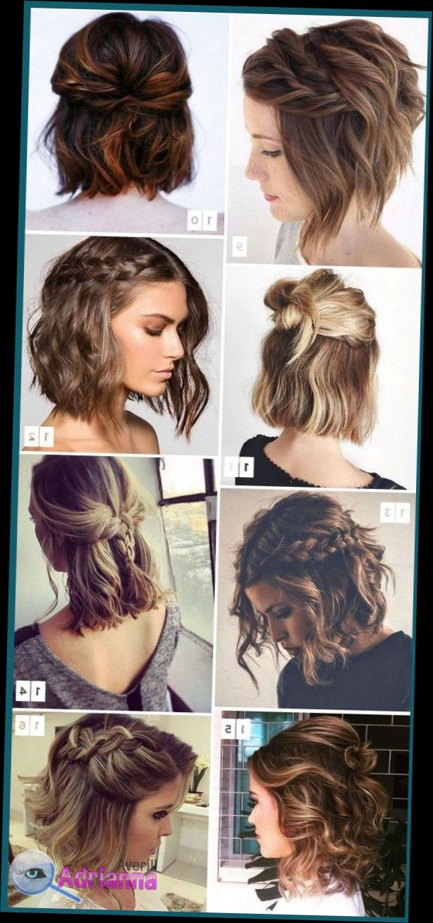 Easy Hairstyle For Short Hair All You Need Is A Bandana And A Chopstick Curler Or Any Medium Hair Styles Cute Hairstyles For Short Hair Short Hair Styles
