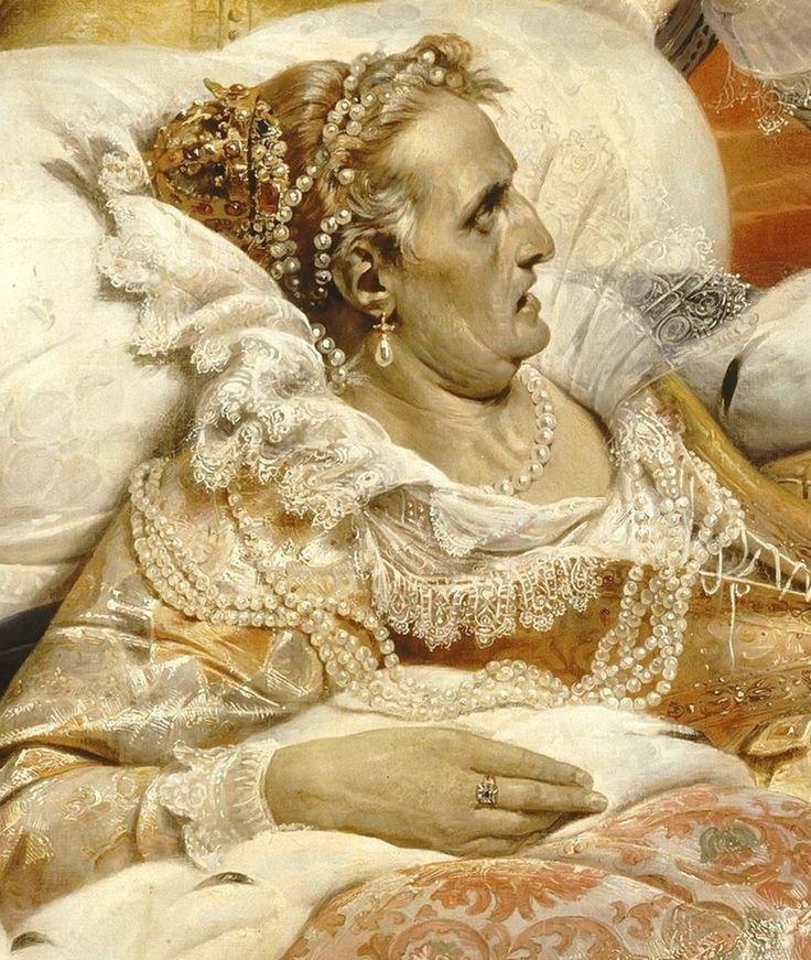 Paul Delaroche -- Death of Elizabeth, Queen of England, in 1603