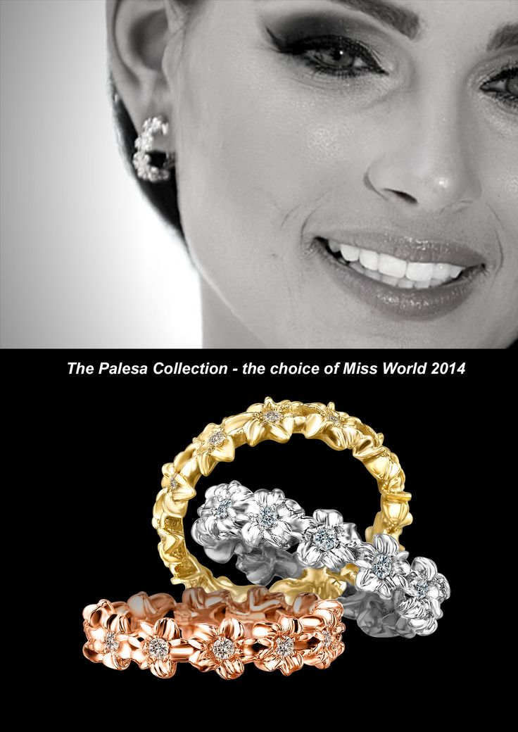 Palesa Collection - the choice of jewellery of Miss World 2014 Rolene Strauss