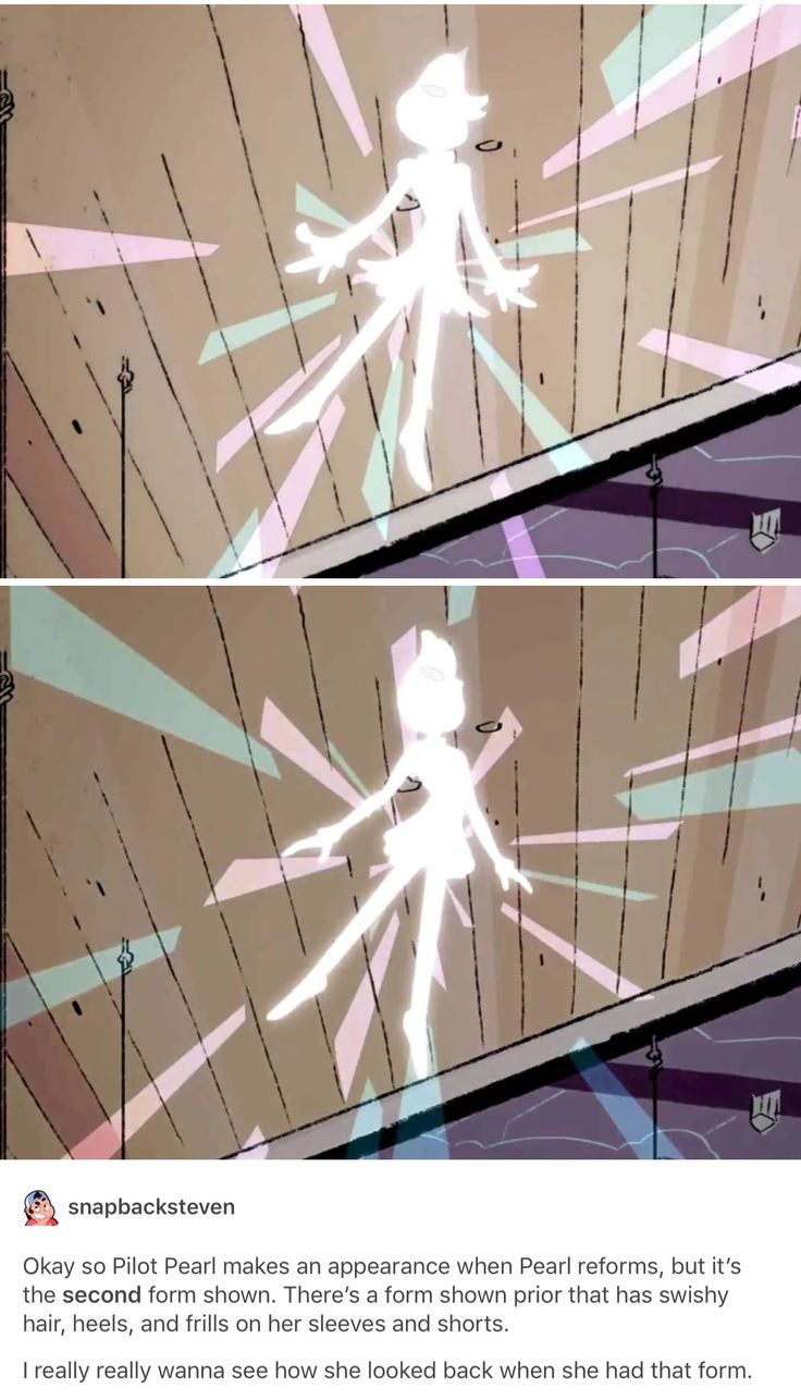 I just want a time where Pearl had her old forms and I'll be complete