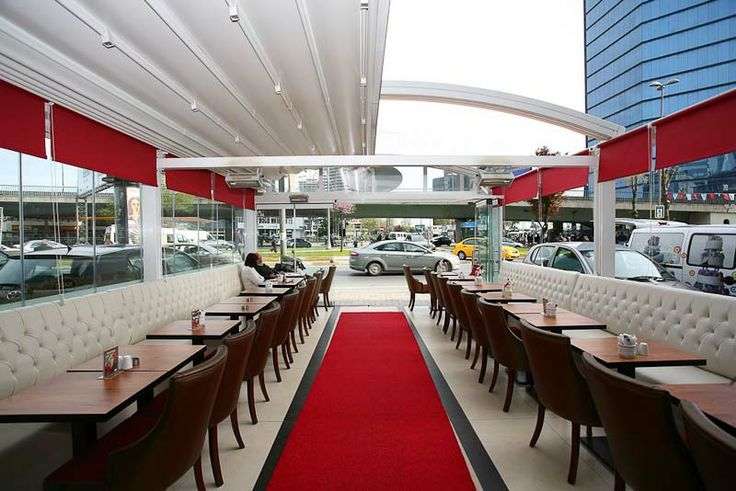 Retractable Roof System great for Restaurants