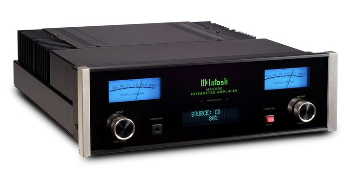 Amplificateur HiFi Mc Intosh MA5200 : Un son chaleureux et émotionnel. #EasyLounge #amplifier #mcintosh