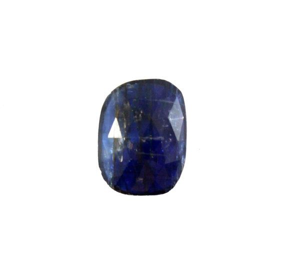 Blue Kyanite fancy rose cut 6.77 carat by SARAHHUGHESfinegems