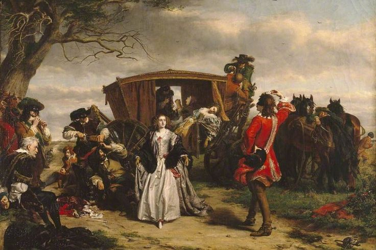 'Claude Duval' by William Powell Frith