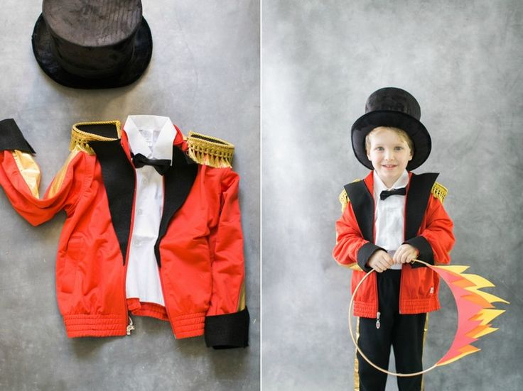 DIY Dompteur Kostüm für Kind