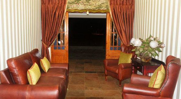 Reception Area at Makarios Country Lodge http://www.bloemfonteinguide.co.za/makarios-country-lodge/