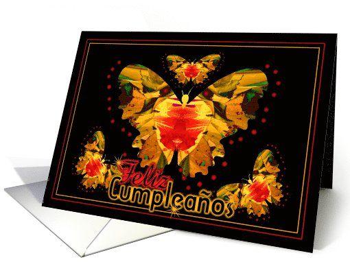 Feliz Cumpleaños - spanish Happy Birthday card (677352)