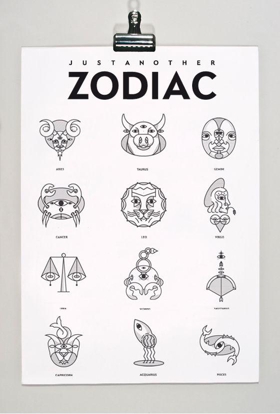 Behance :: Editing ZODIAC SIGN