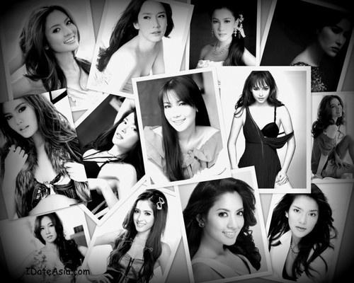 Beautiful Thai women stars.
