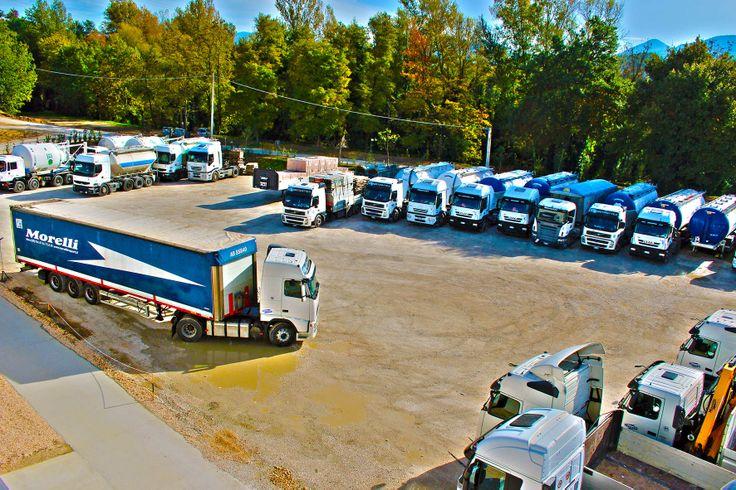 Parco mezzi servizi di logistica