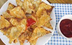 Чипсы из лаваша с сыром от София - просто и #вкусно! Пошаговый #рецепт уже…