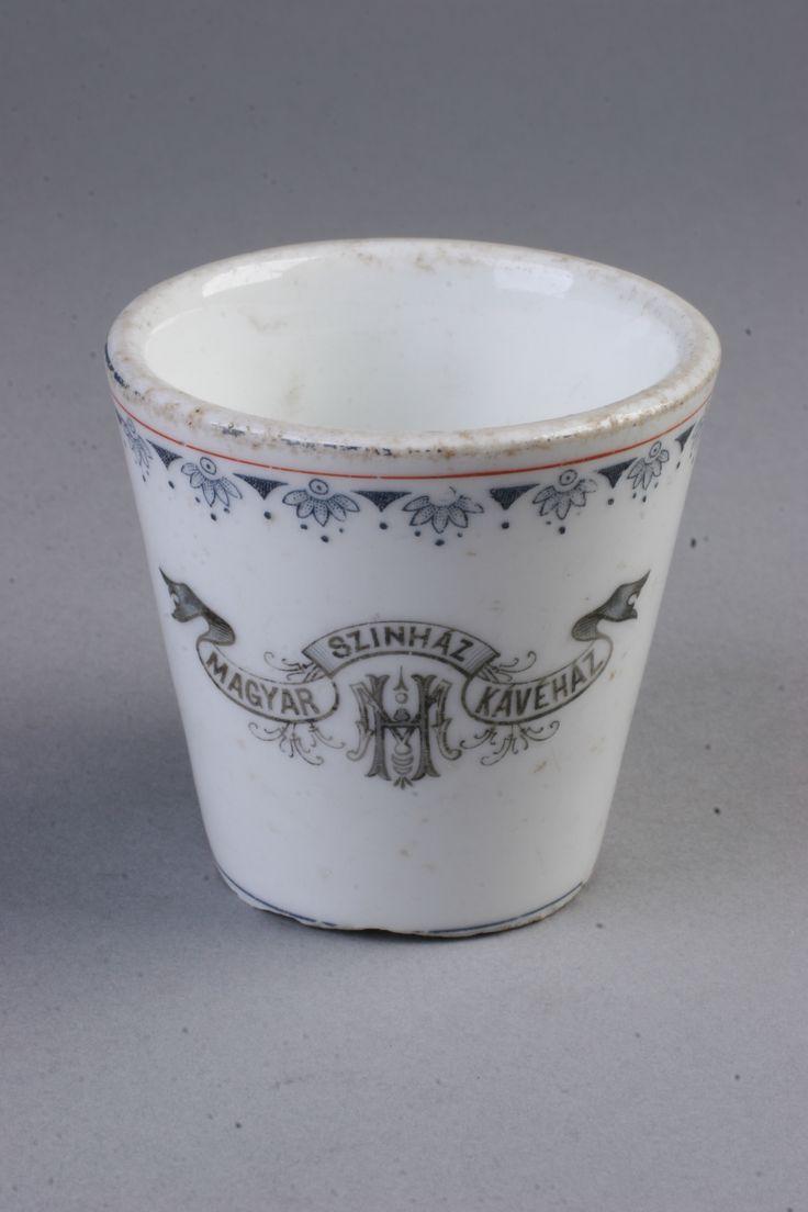 mokkás csésze  [Magyar Kereskedelmi és Vendéglátóipari Múzeum]
