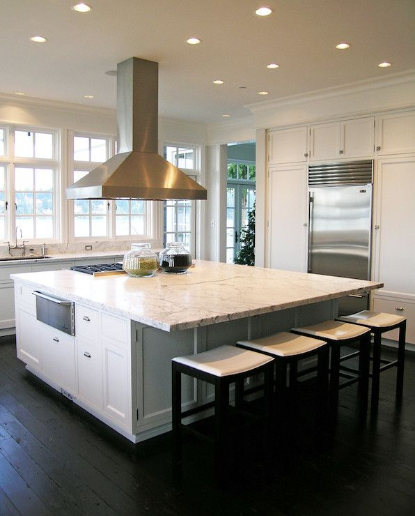 Kitchen Peninsula Counter Overhang: Kitchen Island With