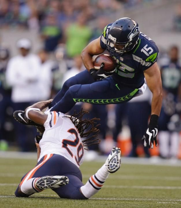 Bears Seahawks Football Jermaine Kearse