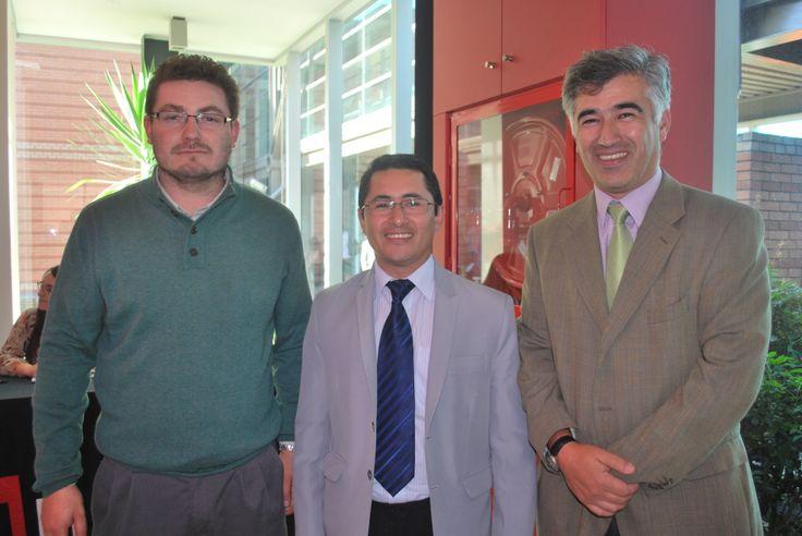 Claudio Castillo, Javier Morales, Jorge Ochipinti.