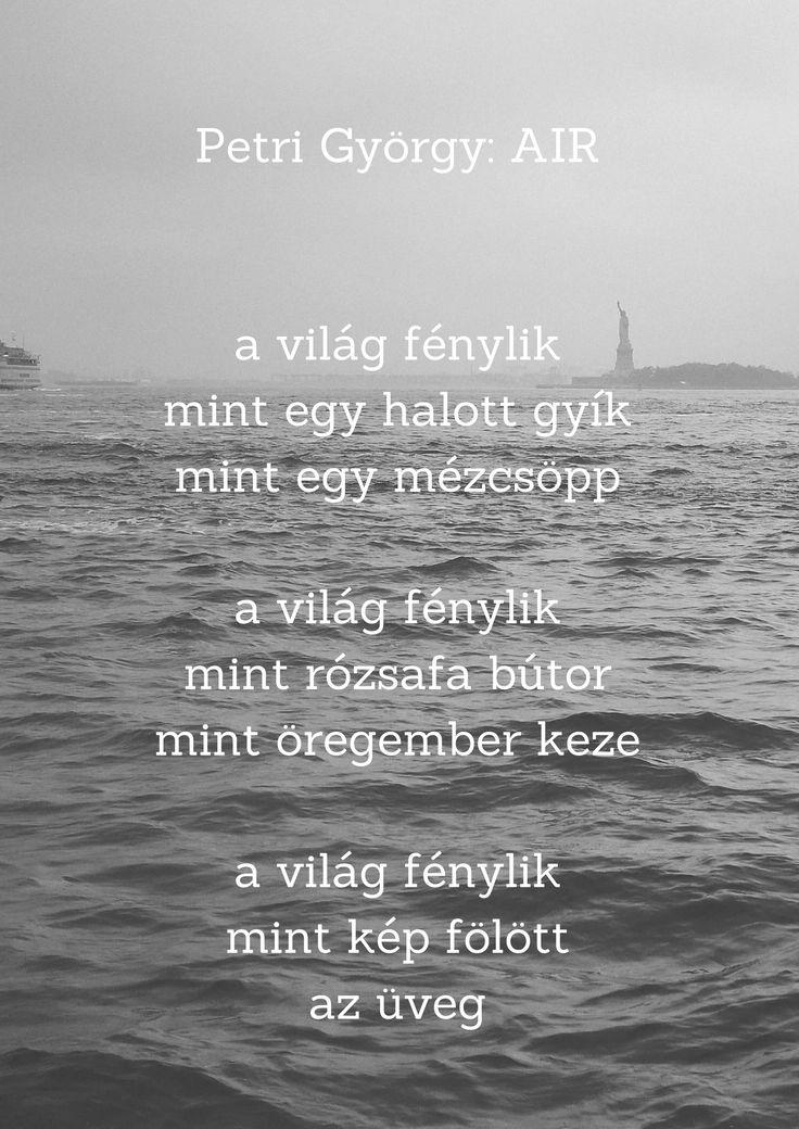 Petri György AIR
