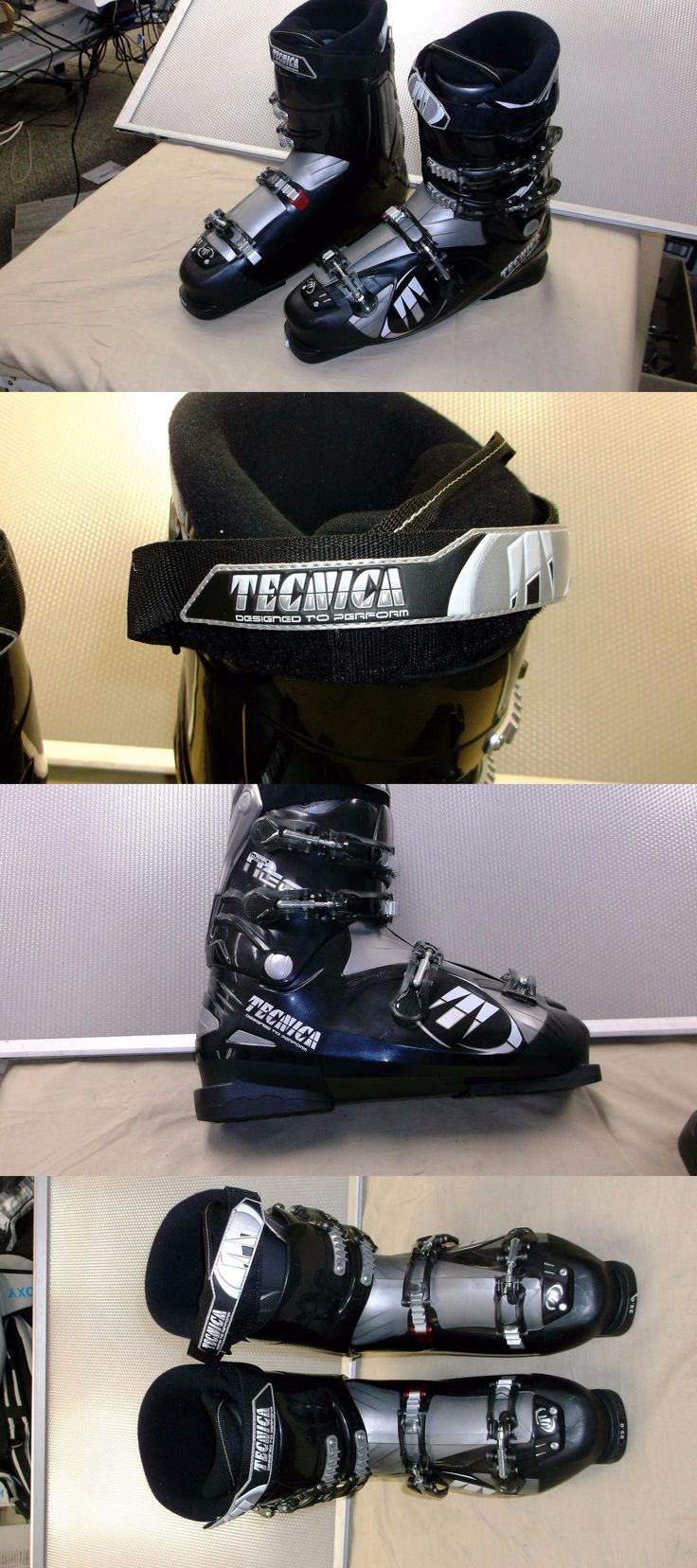 Other Downhill Skiing 1302: Tecnica Mega 4 Ski Boots- New- Size 33.0 Or Men S 15 , 4 Buckle, Big Man S Boot -> BUY IT NOW ONLY: $250 on eBay!