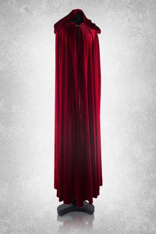 Full length Velvet Hooded Cloak. http://www.galleryserpentine.com/collections/mens-jackets-coats