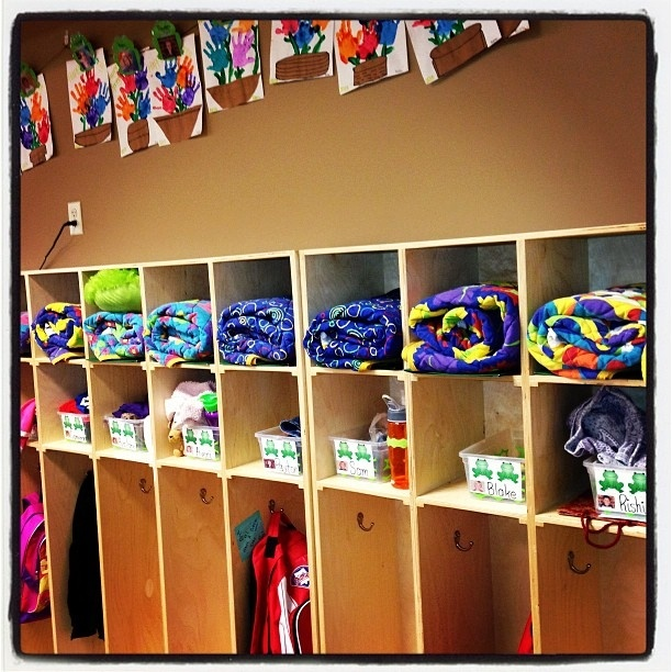 Classroom Cubby Ideas : Best nap time solutions images on pinterest child care