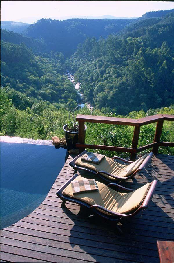 Lodge overlooking Sabie river, Mpumalanga province, South Africa photo
