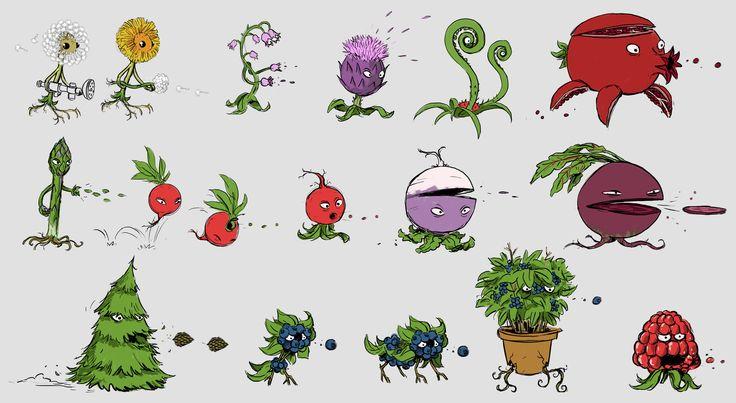 ArtStation - Plants vs. Zombies: Garden Warfare 2 - PLANT Designs, Darren Rawlings