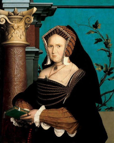HOLBEIN Hans the Younger (Augsburg c.1497-1543) - 1527  Lady Guildford