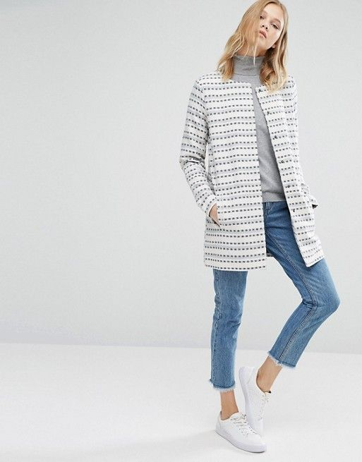 Only | Only Striped Lightweight Jacket