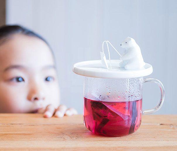 Infusores criativos para decorar o seu chá