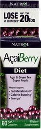 AcaiBerry Diet is a new natural addition to an effective weight loss management program. This weight loss support formula is made from the acai berry fruit native in the rainforest of the Amazon River in South America. These purple berries are high in antioxidants called anthocyanins which can effectively protect the body from the harmful effects of free radicals. visit us: http://www.tasmanhealth.co.nz/natrol-acai-berry-diet/ for more details!!