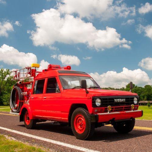 1986 Nissan Safari Fire Truck 4x4  Old Trucks for Sale