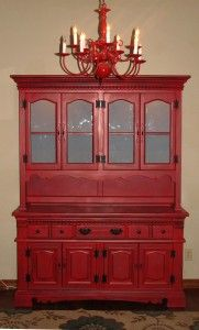 FunCycled Red Hutch DIY Instructions