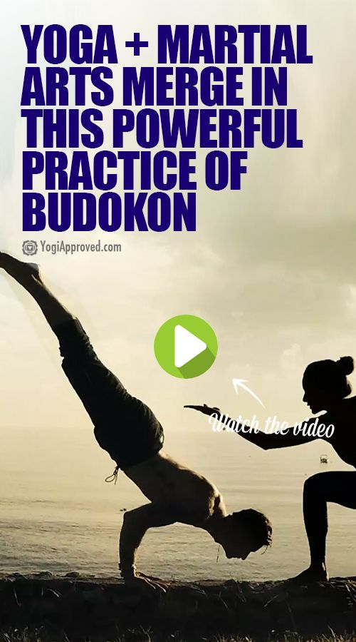 Yoga + Martial Arts Merge in this Powerful Practice of Budokon (Video)