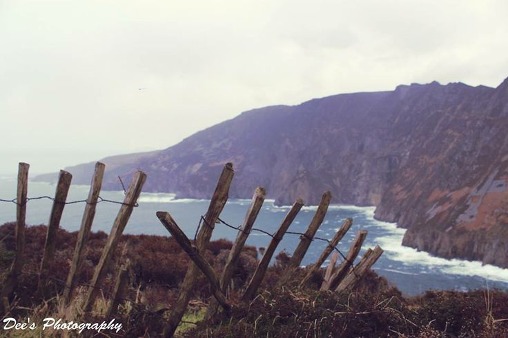 Landscape photography of Slieve League Cliffs, Donegal Ireland  #ireland #slieveleague #donegal #cliff #landscapephotography #photogpahy #deesphotography sea stormy