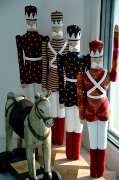 Tilda toy soldiers                                                                                                                                                                                 More