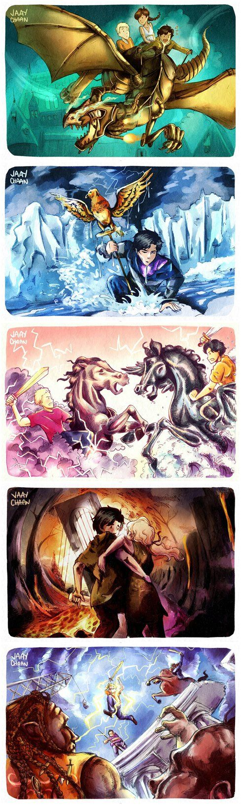 -redraw- All HOO Book Covers by jaaychaan.deviantart.com on @DeviantArt