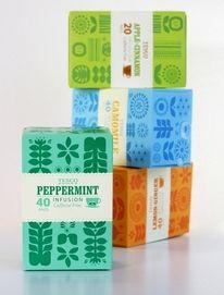 lovely-package-tesco-herbal-tea1.jpg (759×1000) — Designspiration