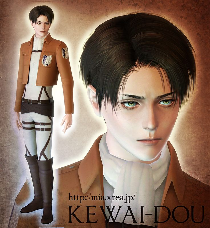 Sims 3 Anime Characters : Levi rivaille 『 sims great pictures 』 pinterest