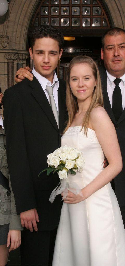 Donte & Chlo get married in Waterloo Road