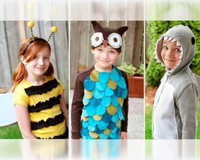 Carnevale: vestiti fai da te per bambini - Vestiti fai da te da animali