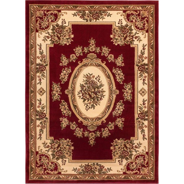Timeless Le Pe Palais Red 10 Ft 11 In X 15 Traditional Area Rug