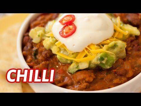 Receita de chilli mexicano - Aprenda a fazer