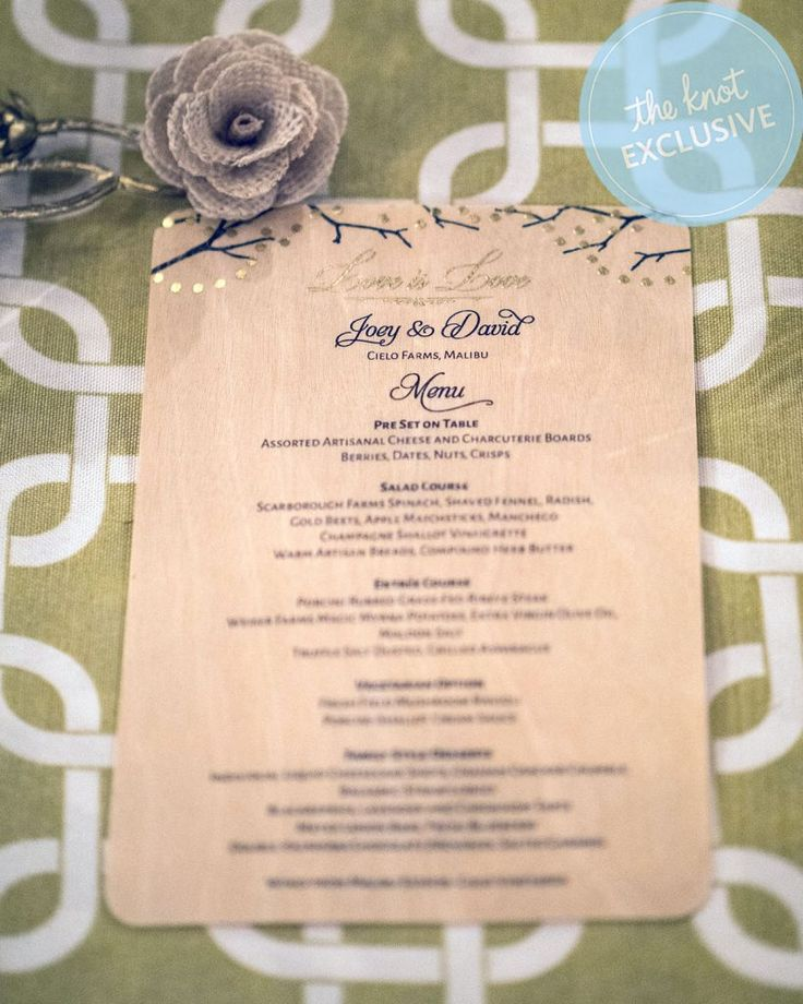 tie the knot wedding invitations etsy%0A David Tutera and Joey Toth u    s dreamy  rustic rehearsal dinner in Malibu was  basically a wedding u    and The Knot has exclusive photos and details