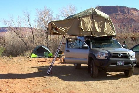 Here Is What An Autana Model Tent Unit Looks Like Mounted