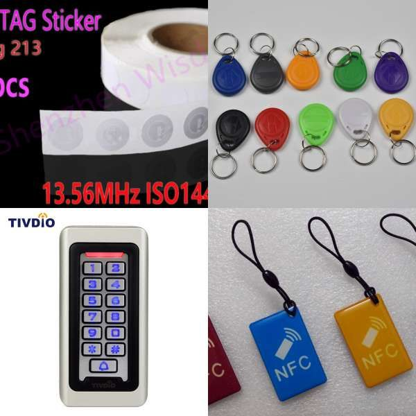 100pcs Rfid Cards 125khz Em4100 Tk4100 Smart Card Proximity Rfid Tag For Access Control Avec Images