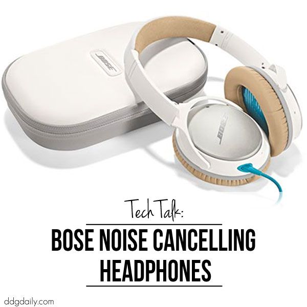 Tech talk: The amazing noise cancelling headphones from Bose