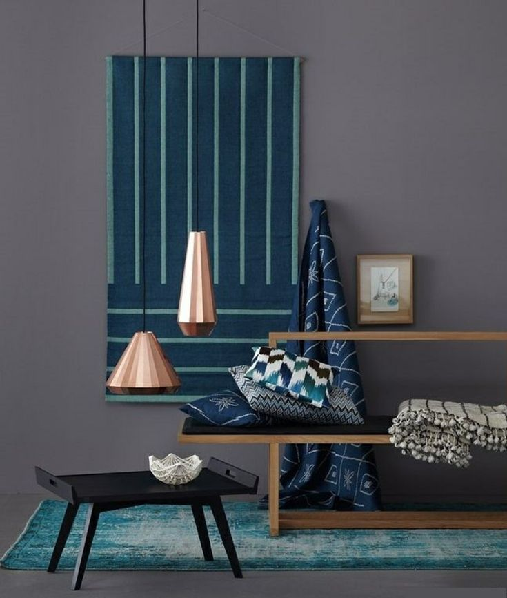 Die besten 25+ Anthrazitfarbene wohnzimmer Ideen auf Pinterest - wandfarbe grau