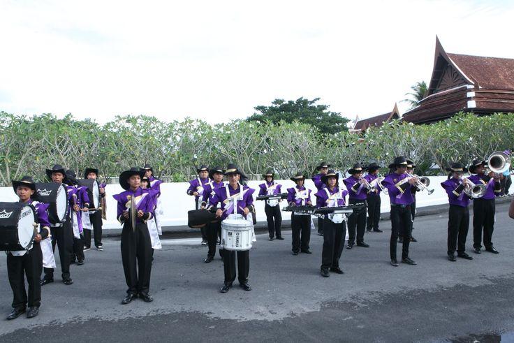 Baraat assembly.