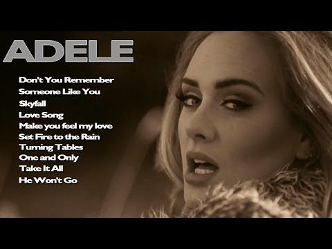 Adele Greatest Hits - YouTube