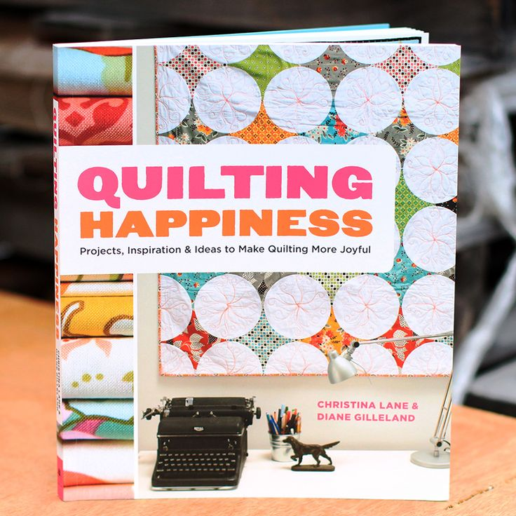 Enter our giveaway for a chance to win a copy of Diane Gilleland and Christina Lane's new book Quilting Happiness! http://platform.votigo.com/fbsweeps/sweeps/Win-a-Copy-of-Quilting-Happiness